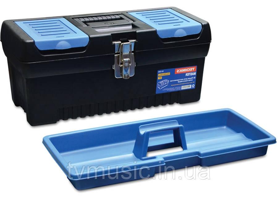 Ящик для инструментов с металлической застёжкой Technics 52-527