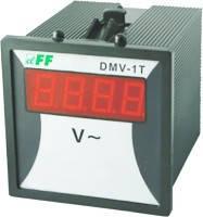 Цифровой индикатор напряжения DMV-1T щитовой на рейку F&F
