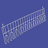 Полка навесная 10 зажимов длиной 95 (см), фото 1