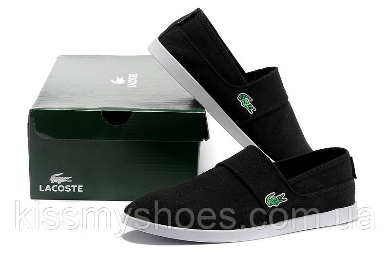 Мужские мокасины Lacoste - Интернет магазин модной обуви и одежды