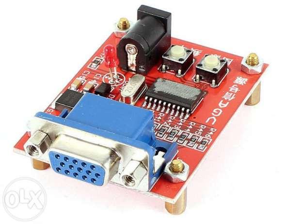 VGA генератор сигналов - тестер мониторов