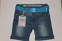 Шорты джинсовые на мальчика 8-14 лет Венгрия.