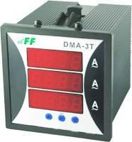Цифровой индикатор тока DMA-3T щитовой F&F