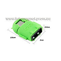 Переходник для OTG с микроUSB на USB (переходник мини usb) COLARIX AKO-SDR-004