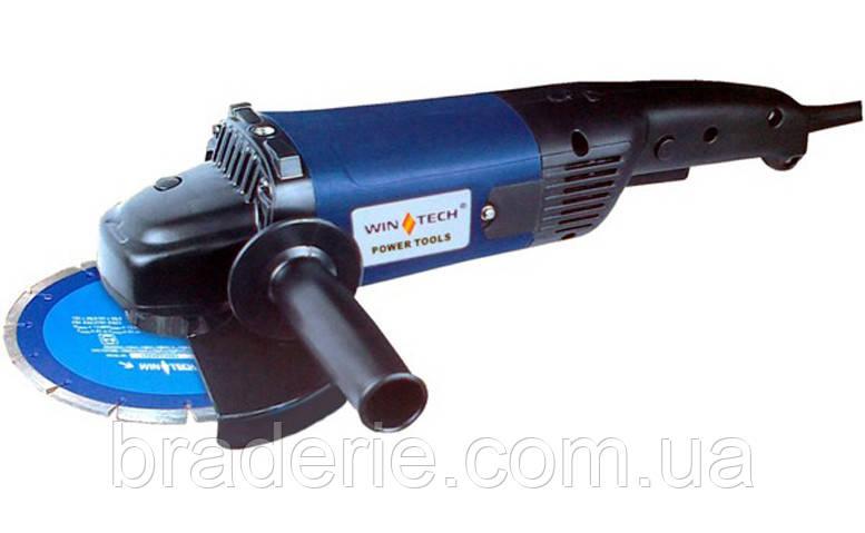 Углошлифовальная машина (болгарка) WinTech WAG-180 F