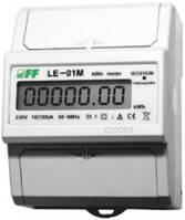 Счетчик электроэнергии однофазный LE-01M c MODBUS RTU F&F