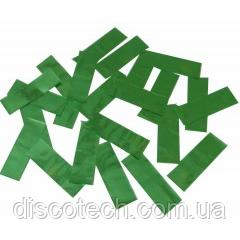 Майларовое-фольгированное конфетти, размер 2см*5см BIGlights 4201 зеленый цвет
