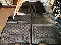 Коврики салона Nissan Leaf / Ниссан Лиф резиновые  , фото 1