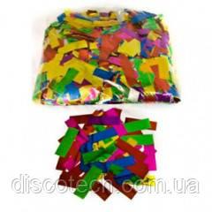 Бумажная нарезка конфети BIGlights 4101 - МУЛЬТИЦВЕТНАЯ БУМАГА