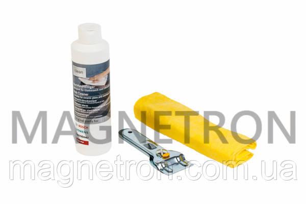 Набор для чистки и ухода для стеклокерамических поверхностей Bosch 311502, фото 2