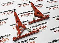 Рычаги треугольные ВАЗ 2108 2109 21099 2110-2112 2113-2113 2115  калина приора красные Техномастер