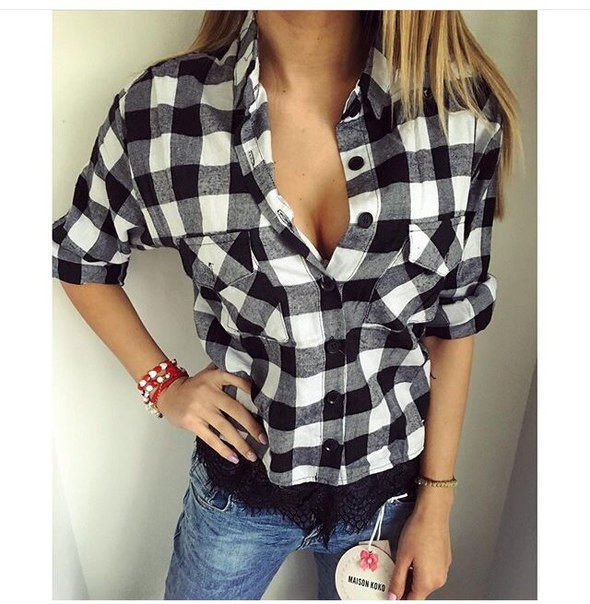 Блузки и рубашки купить в интернет магазине недорого