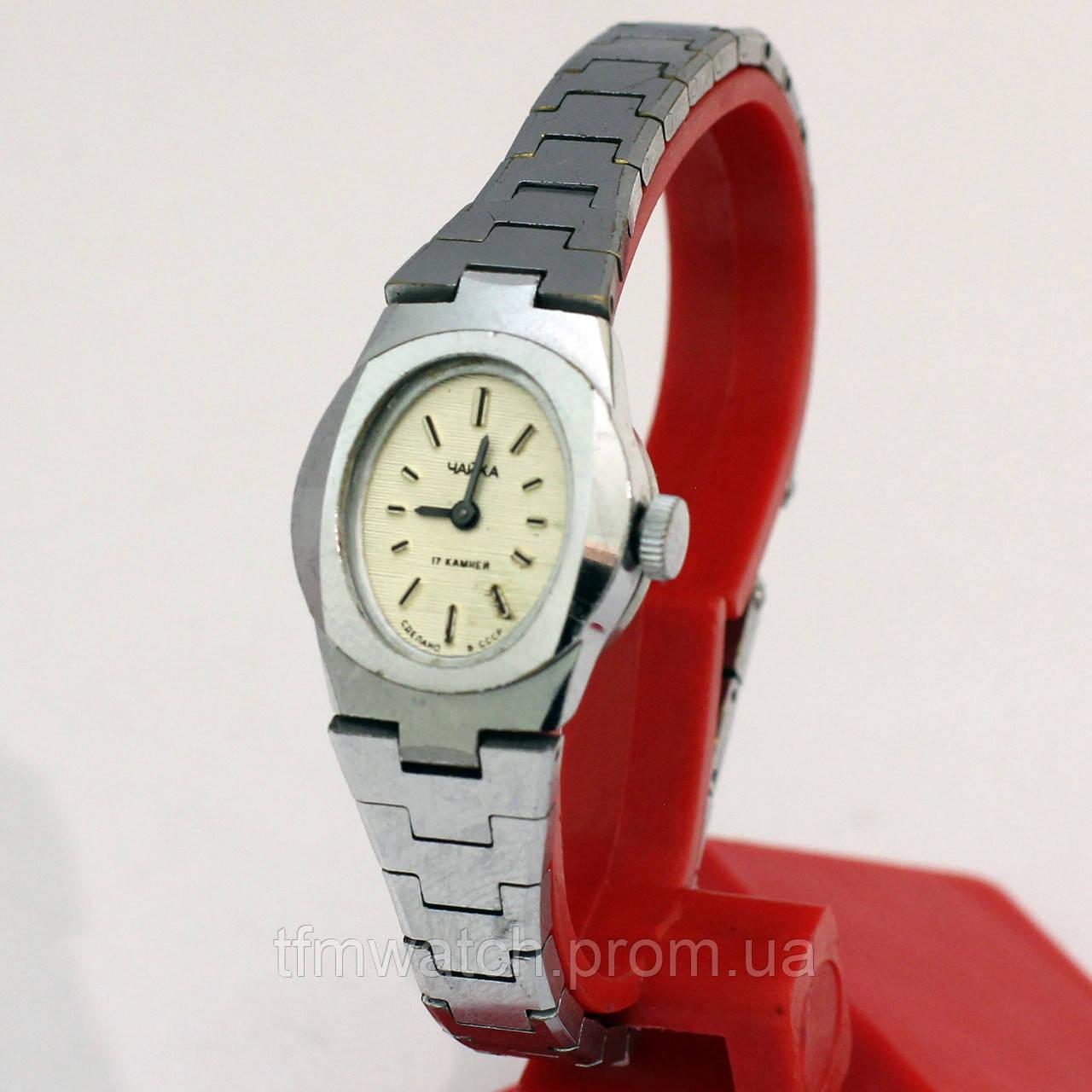 Женские часы Чайка сделано в СССР