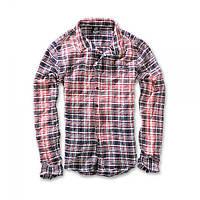 Рубашка Brandit Parkland Wire Rot-blau
