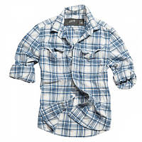 Рубашка Surplus клетчатая Woodcutter Navy