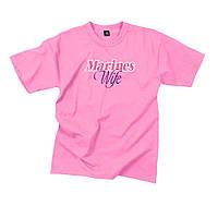 Футболка Rothco Marines Wife Pink