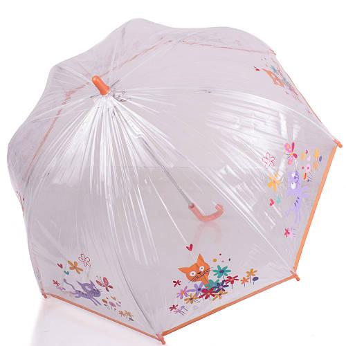 Красочный детский механический  зонт-трость ZEST (ЗЕСТ) Z51510-15