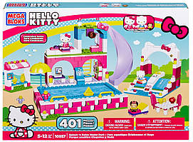 Конструктор Mega Bloks Hello Kitty Большой авквапарк
