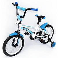 """Велосипед двухколесный Flash 16"""" BT-CB-0042 blue"""