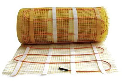 Теплый пол электрический маты Ceilhit 820 Вт, 5,5 м2 двухжильный экранированный