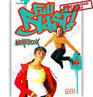 Робочий зошит Англійська мова 8 клас Поглиблений Full Blast 4 Workbook Авт: Mitchell H.Q. Вид-во: MM Publications