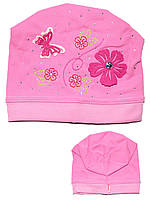Детская шапочка (Темно розовый)