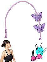 Бретелька через шею (Фиолетовый)