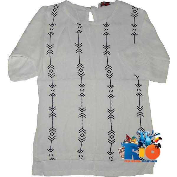 """Детская рубашка """"Вышиванка"""" , для девочек от 4-8 лет"""