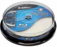 BD-R (Blu-Ray) Emtec 50Gb 6х Double layer Printable Cake 10