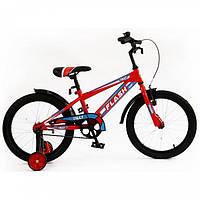 """Велосипед двухколесный Flash 18"""" BT-CB-0046 Red"""
