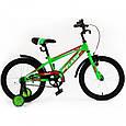 """Велосипед двухколесный TILLY FLASH 18"""" T-21845 yellow  , фото 4"""