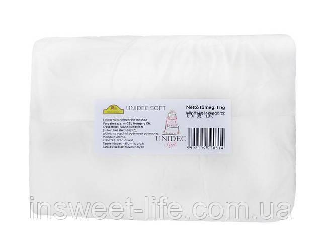 Мастика кондитерская белая  Unidec Soft  1 кг/упаковка
