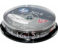 BD-R (Blu-Ray) HP 25Gb 6х Cake 10