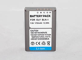 Аккумулятор BLN-1 - аналог для фотоаппаратов OLYMPUS OM-D E-M5, OM-D E-M1, PEN E-P5, E-M1, E-M5, E-P5 - 1750ma