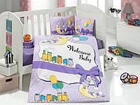 Комплект детского постельного белья Train, Aran Clasy