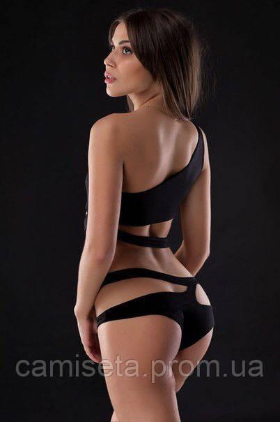 Купальник женский сдельный из ткани бифлекс P2372  продажа 111ca69512d5f
