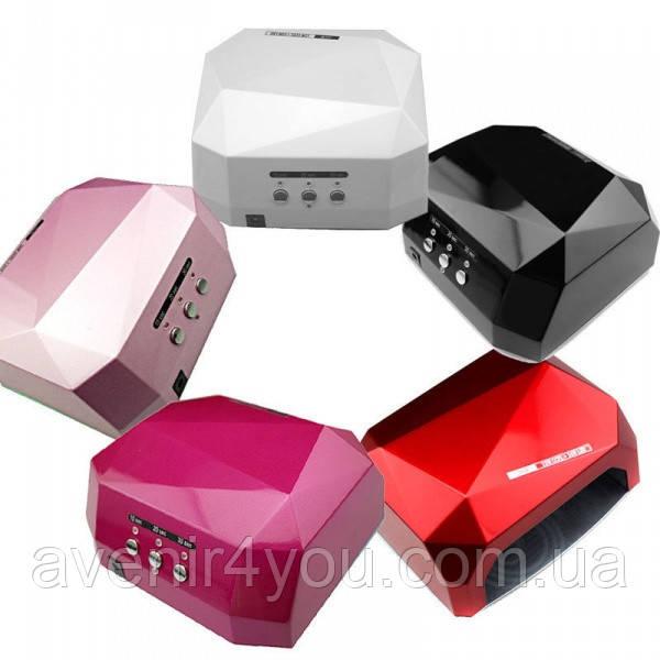 LED+CCFL Лампа 36W DIAMOND (разные цвета)