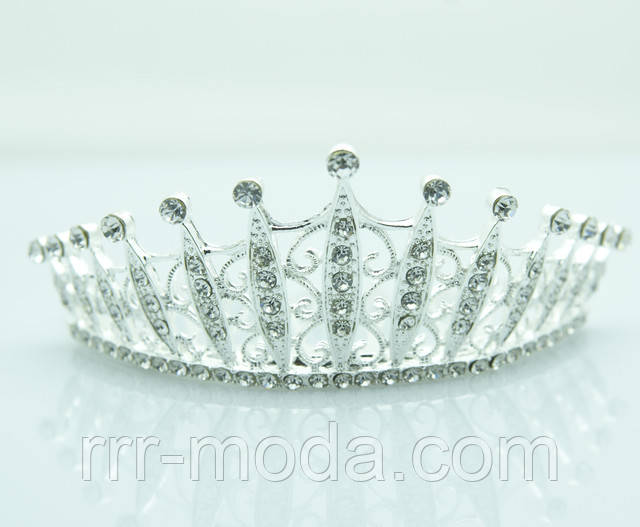 Пополнение коллекции свадебной бижутерии недорого оптом. Шикарные короны,диадемы, тиары и гребни для невест оптом на Украине.