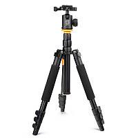 Штатив + монопод фирмы QZSD для фотоаппаратов - Q-570B (Q570B) + головка QZSD-06