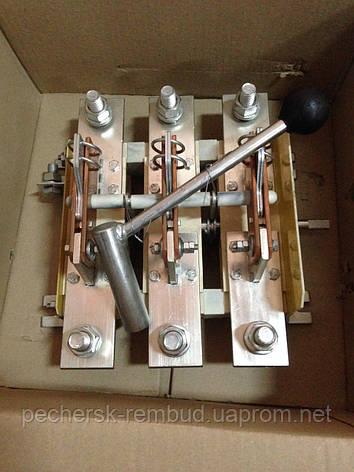 Рубильник 3п РЕ 1931 311500 100А с боковой правой смщенной рукояткой, фото 2