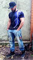 Мужская футболка 03213, фото 1