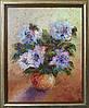 «Лиловые розы» картина маслом