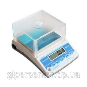 Лабораторные электронные весы Jadever SNUG-II  до 1500 г, дискретность 0,2