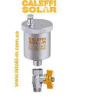 """Автоматический воздухоотводчик для систем, работающих на солнечной энергии Caleffi Solar 3/8"""" , фото 1"""