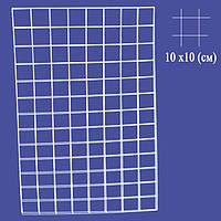 Сетка торговая с ячейкой 10 х 10 (см) толщина 3 (мм)