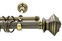 Трубы рифленые для кованых карнизов серия 25мм
