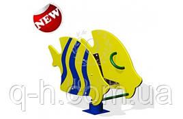 Качалка на пружинке рыбка