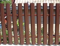 Металлический забор для дома «Штакетник»