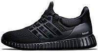 Мужские кроссовки Adidas Ultra Yeezy Boost All Black, адидас