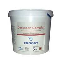 Химия для дезинфекции, очистки, осветления воды в бассейне Desiclean Complex 3в1 FROGGY (таблетки 200гр) 1кг